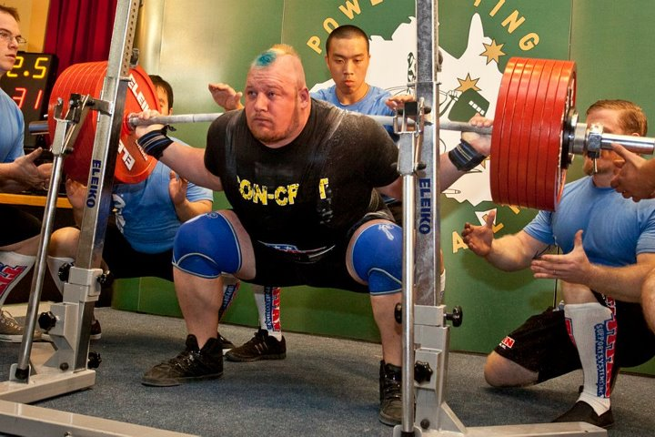 Don't Get Stapled - How to Make it Through The Sticking Point of a Squat