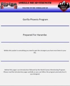 The Gorilla Phoenix Program 2