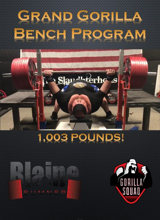 The Grand Gorilla Bench 1